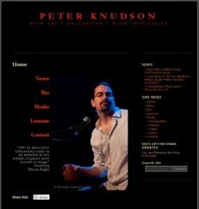 Drummer Peter Knudson